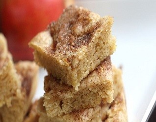 Apple Cinnamon Squares