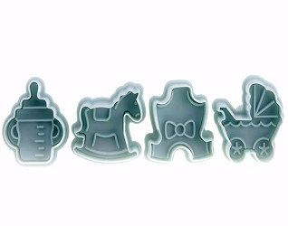 Baby Shower Cookie Cutters set