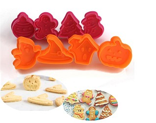 Christmas and Halloween Cookie Cutters