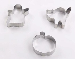 3 Fun Halloween Cookie Cutters