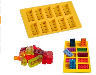 Lego Shaped Silicone Mold