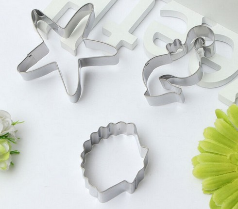 3 Under the Sea Themed Cookie Cutters